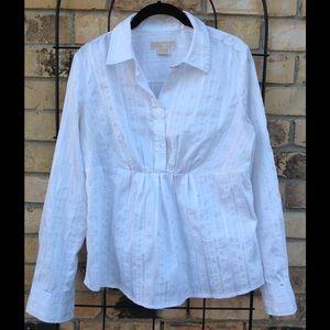Michael Kors Peplum Shirt
